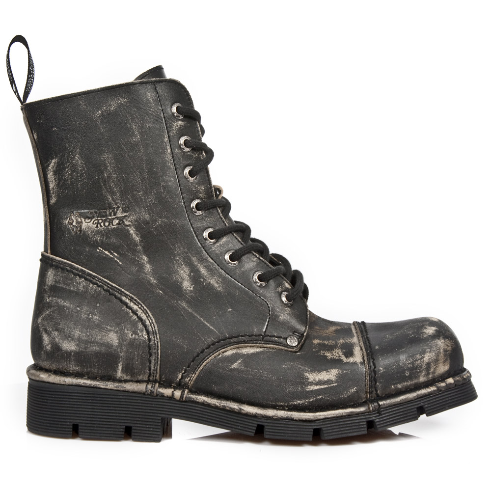 vintage scuff military boots. Black Bedroom Furniture Sets. Home Design Ideas