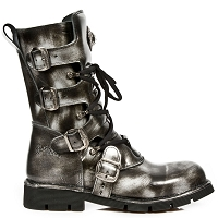 Greystone Leather Combat Boots by New Rock - Unisex