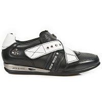 Black & White Leather Hybrid Shoes *May take up to 45 - 50 Days to Receive*