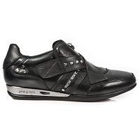 Black Leather Hybrid Shoes *May take up to 45 - 50 Days to Receive*