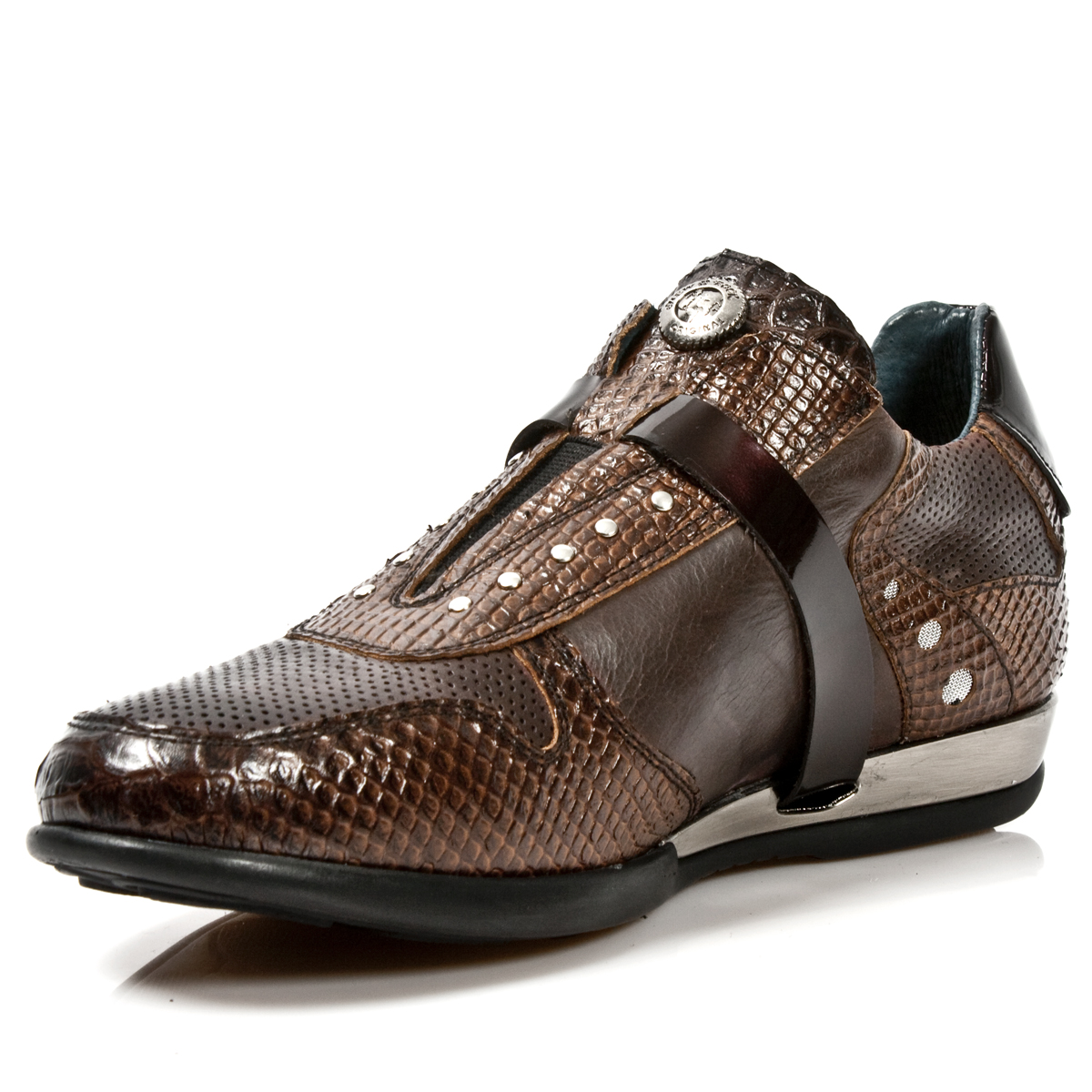 brown leather serpentia hybrid dress shoes may take up to 45 50