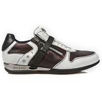 Brown & White Leather Hybrid Dress Shoes *May take up to 45 - 50 Days to Receive*