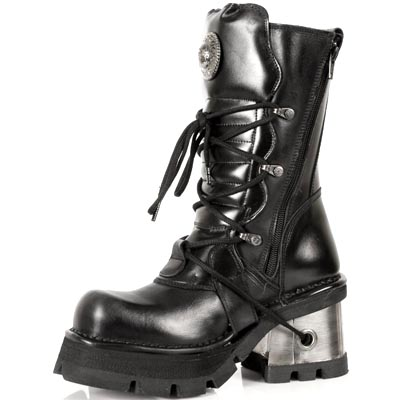 Classic Ladies New Rocks Leather Boots