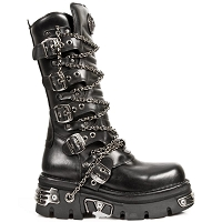Goth Boots w Chains *May take up to 45 - 50 Days to Receive*