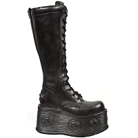 Combat Boots w Spacewalker Platform *May take up to 35 - 45 Days to Receive*