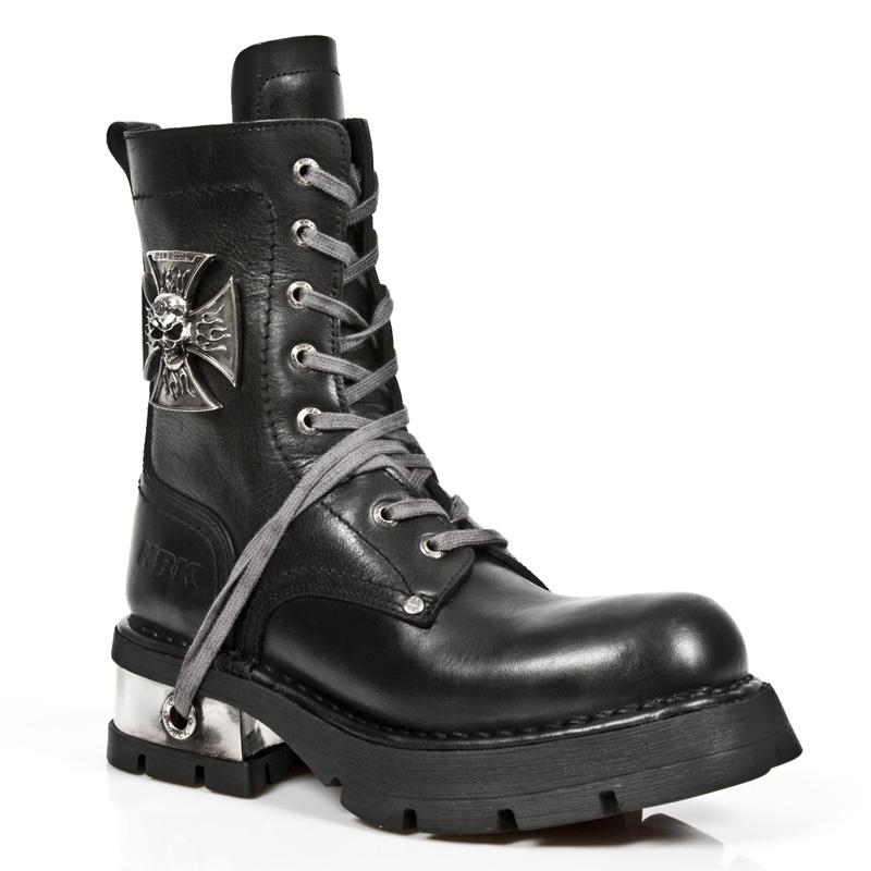 Iron Cross Combat Boots