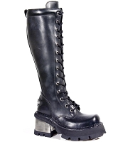 Ladies Combat Boots 3.5 Heel