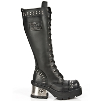 Ladies Studded Goth Boots *May take up to 35 - 45 Days to Receive*