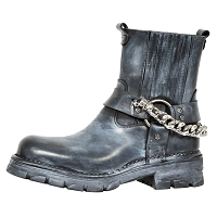 Mystical Fog Motorcycle Ankle Boots *May take up to 45 - 50 Days to Receive*