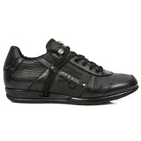 ALL Black Leather Hybrid Dress Shoes
