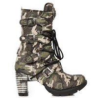 Ladies Camouflage Boots w 3