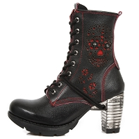 Day of the Dead Ladies Leather Boots w 3