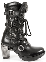 Ladies Leather Boots w 3