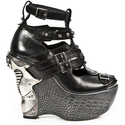 New Rock Boots, Mens Leather Boots, Sexy High Heels