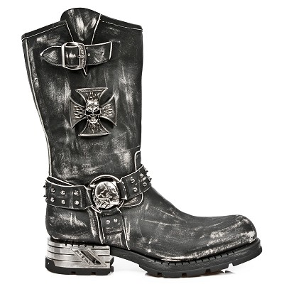Mens Vegan Motorcycle Boots